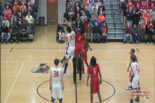 Alton vs. Edwardsville Regional Championship Game 3-3-17