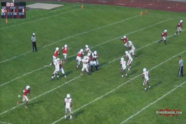 Alton High School Red and Gray Scrimmage 2017