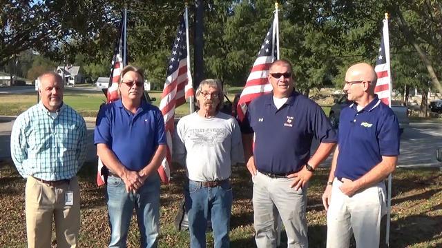 Illinois American Water Donates 40 New Flagpoles to City of Grafton