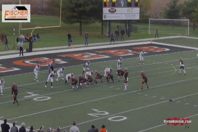 Minooka at Edwardsville Tigers IHSA Quarterfinals Football 11-11-17