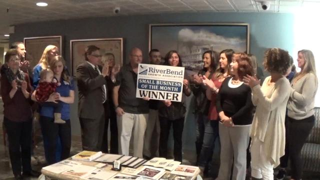 RBGA Awards Bluff City grill November Small Business of the Month