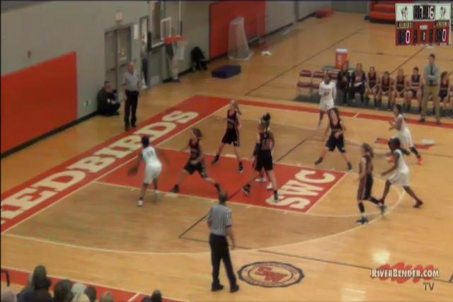 Calhoun at Alton Girls Basketball 11-14-17