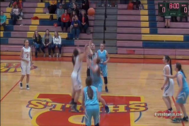 Jerseyville at Roxana Girls Basketball 11-21-17