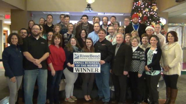 RBGA Awards RiverBender.com December Small Business of the Month