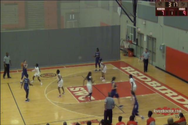 Collinsville at Alton Girls Basketball 12-14-17
