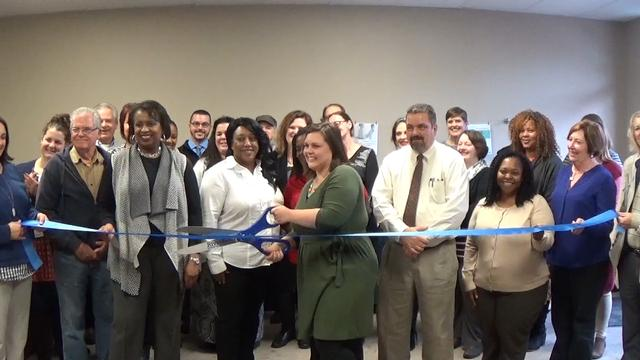 RBGA Cuts Ribbon for Call for Help