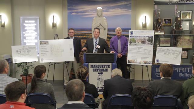 Marquette Catholic High School Announces Major Expansion