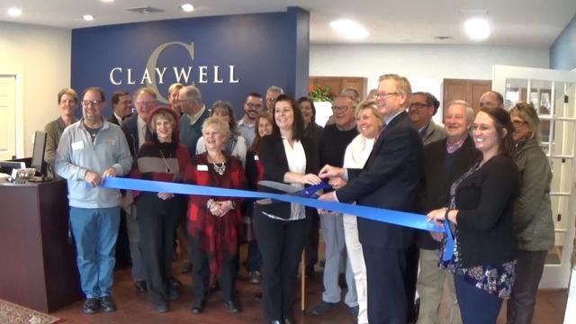 RBGA Cuts Ribbon for Claywell Management, LLC