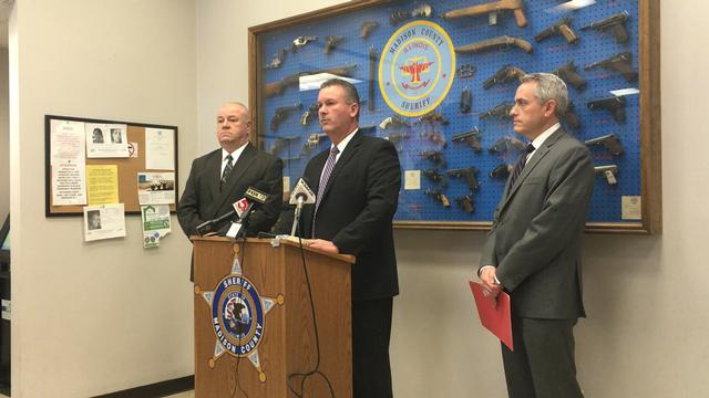 Madison County Sheriff's Office announce charges in murder case