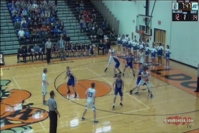 Marquette vs. Columbia Boys Regional Basketball Championship 3-2-18