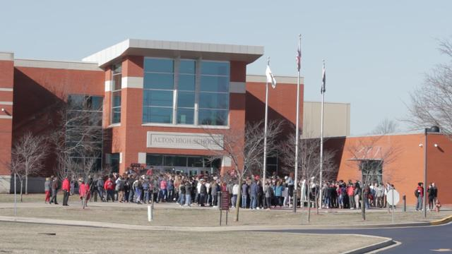 AHS Participates in National Walkout Day