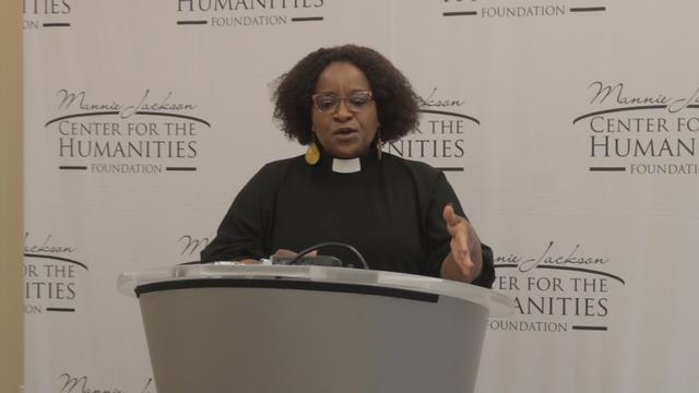 Naomi Tutu Visits SIUE on Behalf of the Mannie Jackson Center for the Humanities