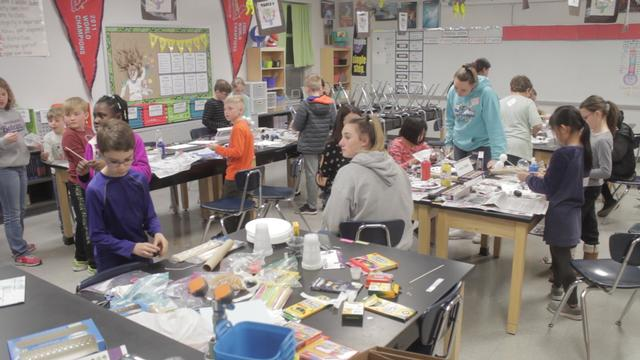 Invention Convention Promotes Extracurricular Learning at Liberty Middle School