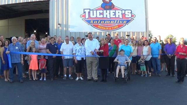 Growth Association Welcomes New Business Tucker Automotive Repair and Tire to Area