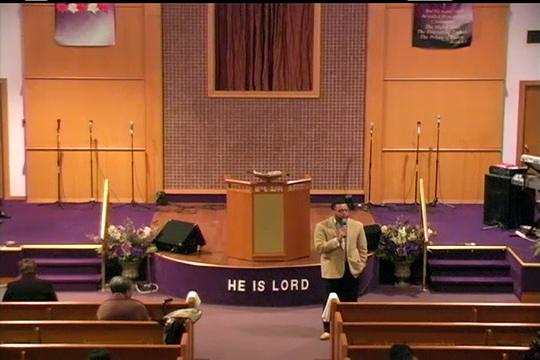 Deliverance Temple Service 11-18-18