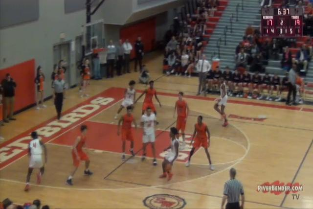 Edwardsville at Alton Boys Basketball 1-22-19