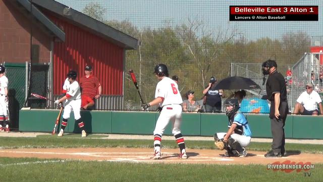 Belleville East at Alton Baseball 4-17-19