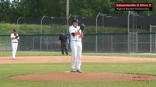 Edwardsville vs. Alton Regional Championship Baseball