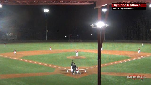 Highland at Alton Senior Legion Baseball 6-11-19