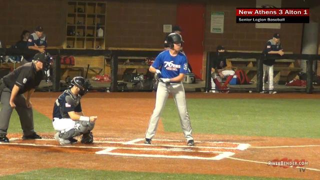 New Athens at Alton Senior Legion Baseball 6-17-19