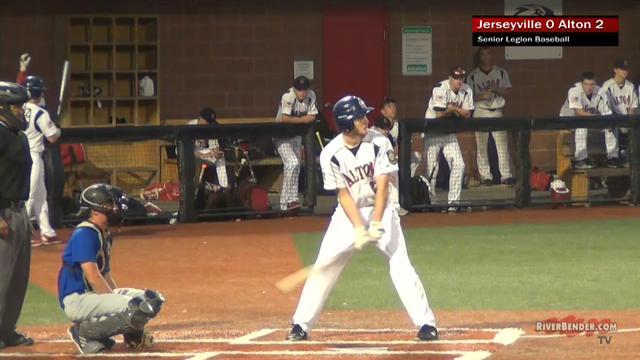 Jerseyville at Alton Senior Legion Baseball 7-2-19