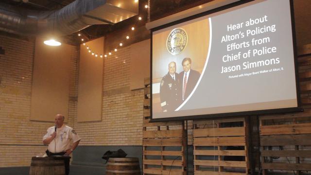 United Congregations Ice Cream Social Highlights Alton Policing Efforts