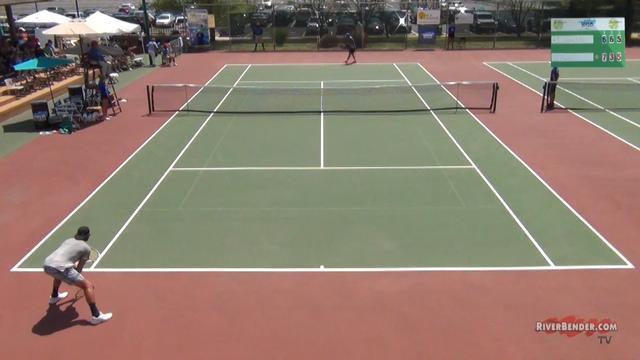 Edwardsville Futures Tennis Tournament Singles Semi-Finals 2019