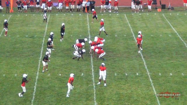 Alton High School's Fall Sports Kick-Off Night 2019 Football Scrimmage