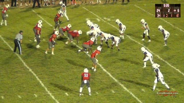 Collinsville at Alton Football 9-13-19