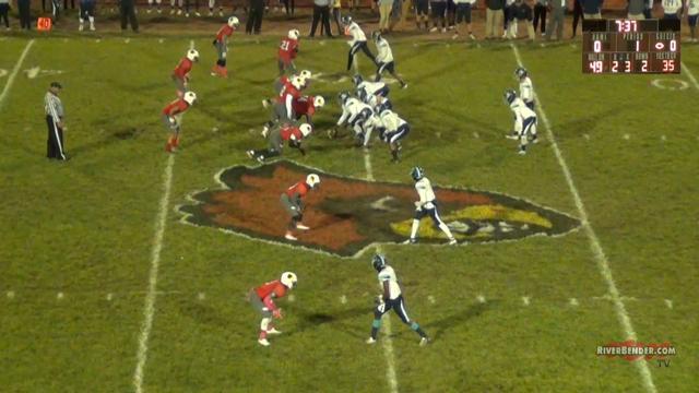 Belleville East at Alton Football 10-22-19