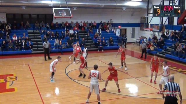 Triad at Roxana Boys Basketball 12-17-19
