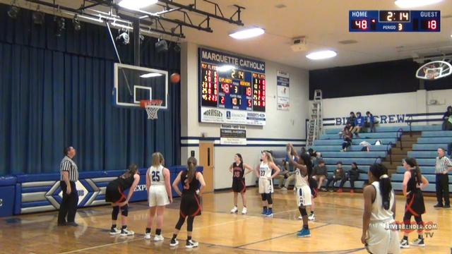 Nokomis at Marquette Girls Basketball 1-9-20