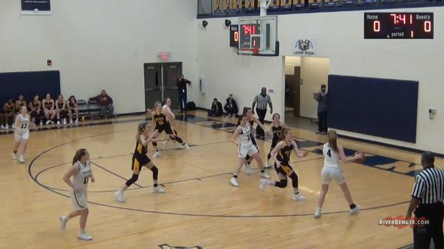 East Alton - Wood River at Father McGivney Girls Basketball 1-13-20