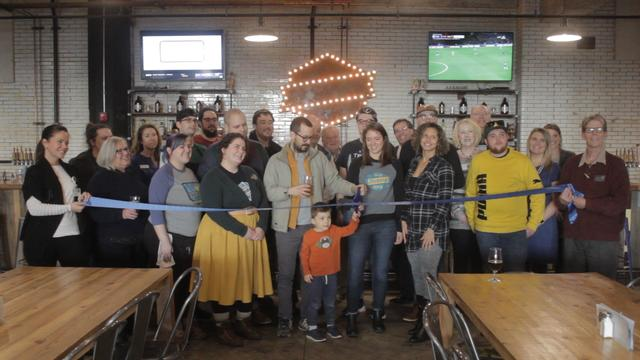 Old Bakery Beer Co. Celebrates Five Years in Business With RBGA Ribbon Cutting Ceremony