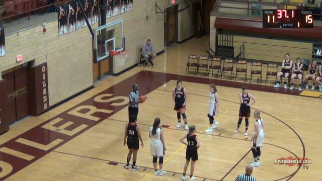 Hillsboro at EAWR Girls Basketball 1-28-20