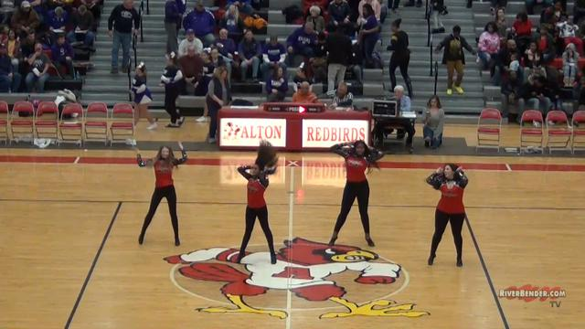 Redbird Dance Team Performance 2-14-20