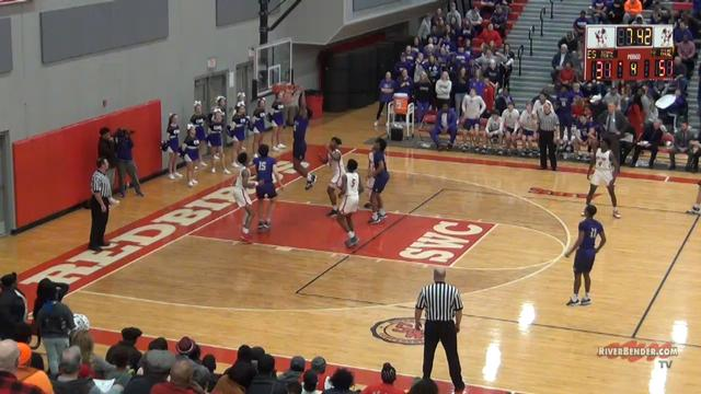 Collinsville at Alton Boys Play of the Game 2-13-20