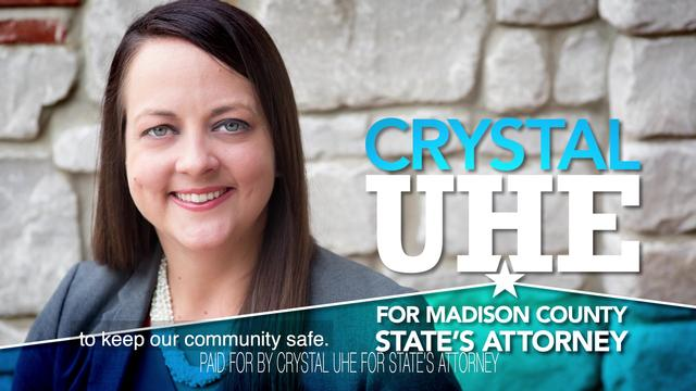 Crystal Uhe for State's Attorney