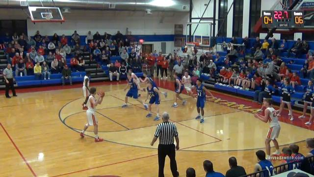 Roxana vs. Greenville Boys Basketball Regional 2-26-20