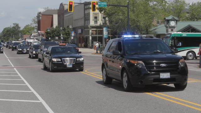 Gary Niebur Honored with Funeral Procession in Edwardsville