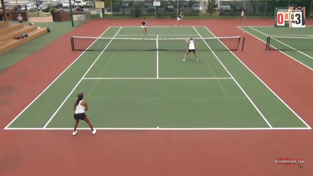 O'Fallon at Edwardsville Girls Doubles Tennis 9-10-20