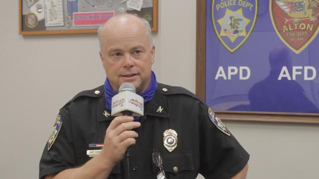 Chief Simmons Reflects on his Career with the Alton Police Department
