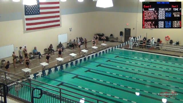 O'Fallon at Edwardsville Swim Meet 10-1-20
