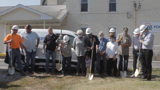 Crisis Food Center Breaks Ground on Expansion in Alton