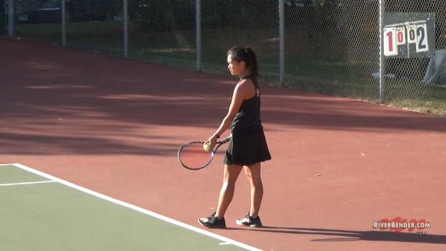 2A Edwardsville Girl's Tennis Sectional Singles Match 10-16-20