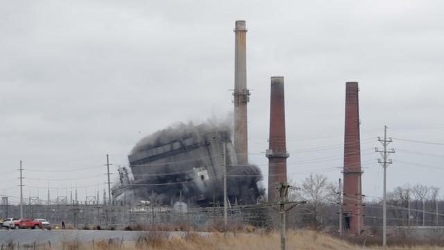 Wood River Power Plant Demolition