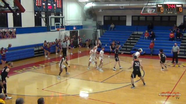 Hillsboro at Roxana Boys Basketball 2-19-21