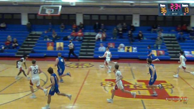 Carlinville at Roxana Boys Basketball  2-26-21