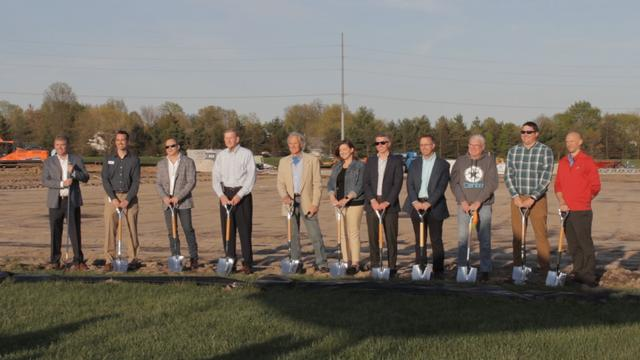 Edwardsville Breaks Ground Paving the Way for New Ice Rink