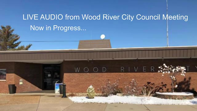 Audio from Wood River City Council Meeting, Monday, April 19, 2021